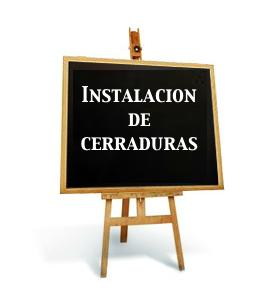 Instalación de cerraduras Ezcurra