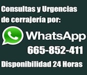 Cerrajeros por WhatsApp